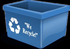 use plastic bins