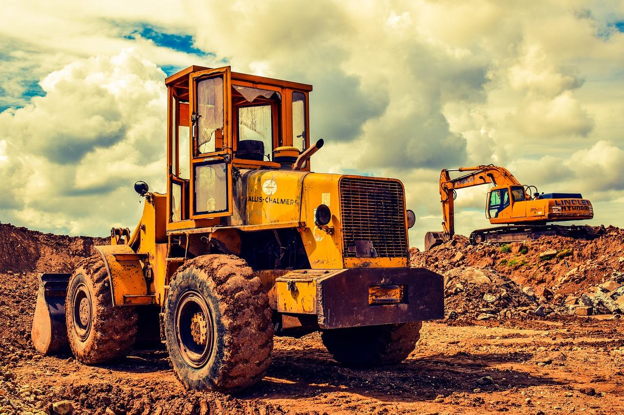 heavy machinery - a bulldozer