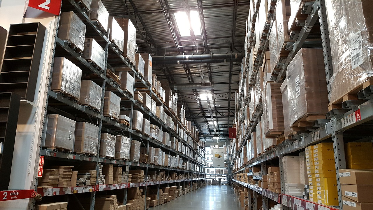 A big warehouse management