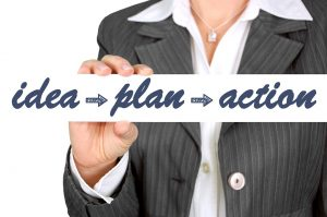 Idea - plan - action - how to pack for your Oakland Park relocation.