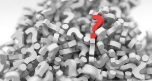 question marks that represent questions for short term storage tips