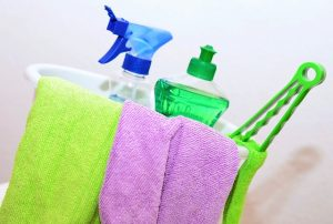 Cleaning supplies, there are many cleaning related related storage mistakes and overcoming them is important