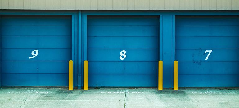 Storage units' doors