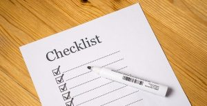 A checklist, this will help you get ready for moving this spring