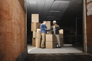 The best moving company delivering your moving boxes.