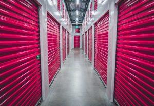 pink storage units