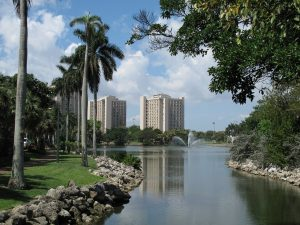 view of Coral Gables