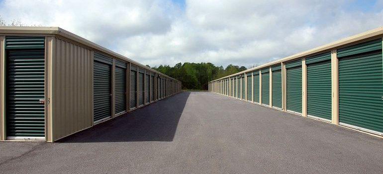 a storage facility