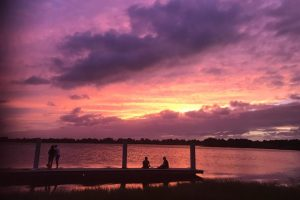 A sunset in Boca Raton