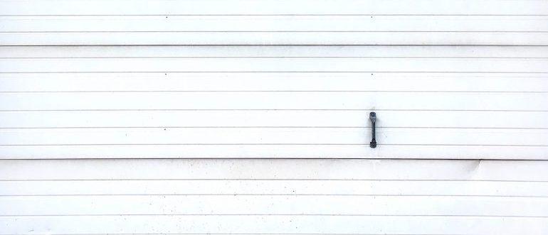 A door of a storage unit