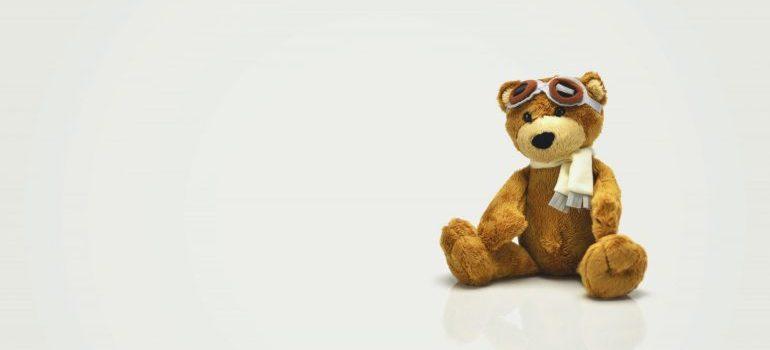 A toy bear
