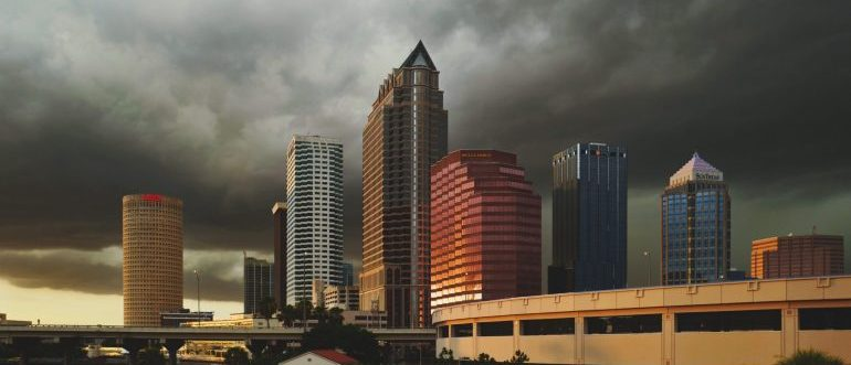 A cityscape of Tampa