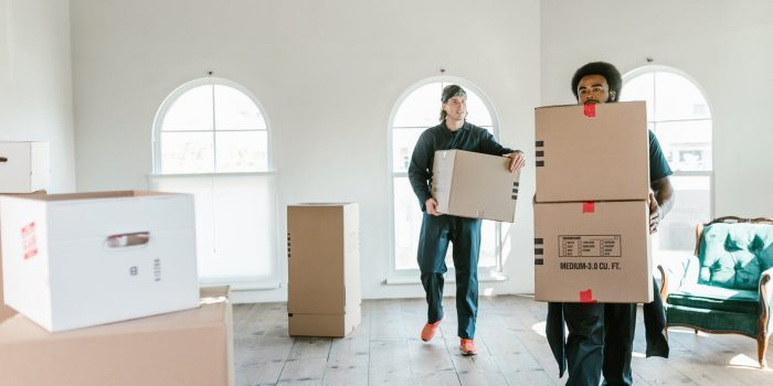 Try to negotiate with your movers