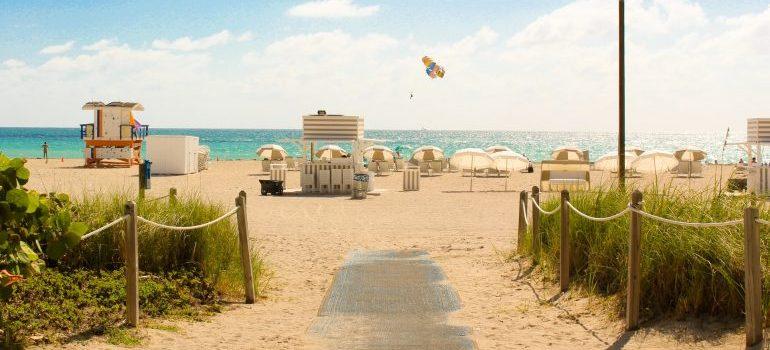 A beach in Florida - settle after moving to Boynton Beach FL