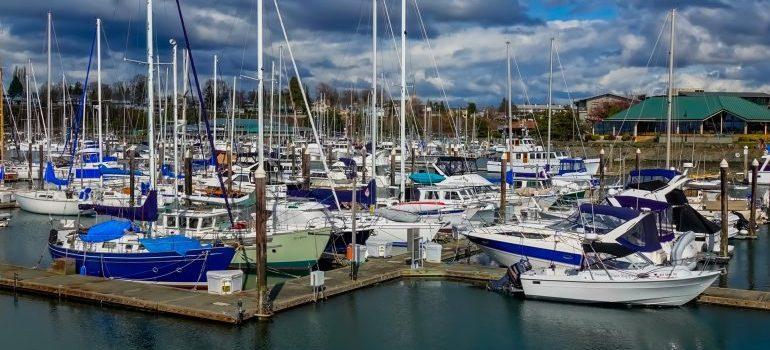 The port of Bellingham