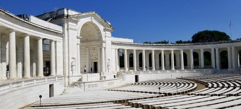 Arlington Cemetery entrance