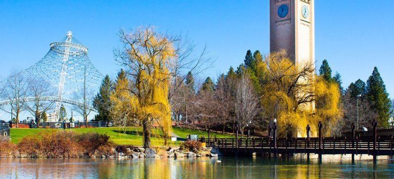 Riverfront Park, Spokane, WA - moving from Boise to Spokane